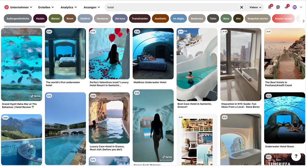 Pinterest SEO 2021 Keywordrecherche Guided Search